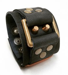 Joxasa Holden leather cuff.