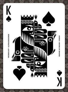 The Alphadesigner Trumplust Card Deck http://alphadesigner.com/blog/trumplust-reinventing-playing-card-deck/