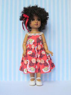 Robe rouge pour Trixie/Patsy Tonner