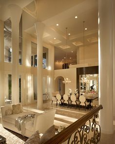 Definitely beautiful! Wide open space, high ceilings... yessssss ma'am