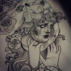 Tattoo Artwork by Emily Rose Murray *****