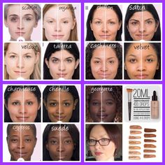 Shades of younique liquid touch foundation