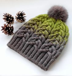"""Finished Measurements: 42 cm/17"""" brim circumference and 50 cm/20"""" circumference body of hat, 22 cm/ 8 ½"""" height from base of ribbing to top center of crown. Measurements taken from relaxed fabric after blocking."""