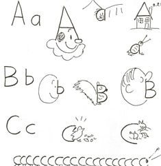 how to draw using numbers and letters