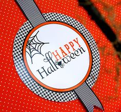 """Fabulous Features by Anders Ruff Custom Designs: {FREE PRINTABLE} Happy Halloween """"BOO"""" Printable Signs and Enclosure"""