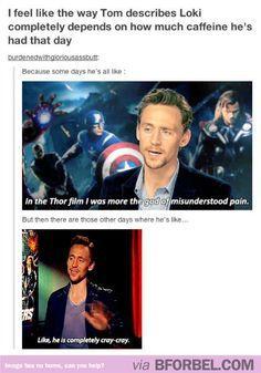 How Tom Hiddleston D