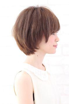 愛され春髪☆ショートボブ - AFLOAT SKY / アフロートスカイ 退色後もツヤが持続する似合わせカラーと柔らかいパーマが大人気 [東京都] - スタイル -