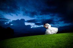 Night bride and groom portrait. Matt Kennedy - Portfolio Photo By www.mattkennedy.ca