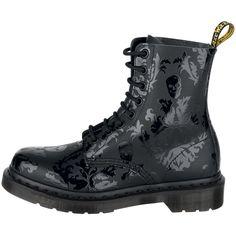Dr Marten's skull boots