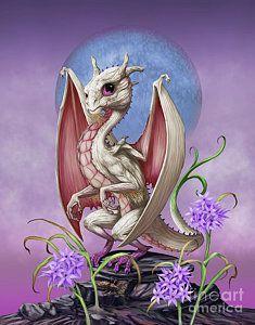 Print featuring the digital art Garlic Dragon by Stanley Morrison