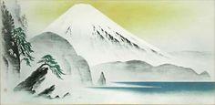 'Mount Fuji from Suruga' lithograph by Katashi OYAMA