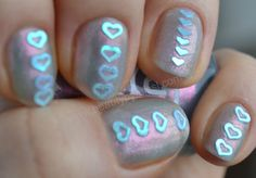 I absolutely LOVE these little heart nails! :) <3 <3 <3 <3 <3 <3 <3 <3 <3 <3