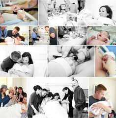 delivery room photo ideas i read that you should just give your camera to one of the side nurses that are only there for emergencies....wish i would have remembered that when i was in labor...