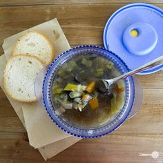 French women's magical leek soup   Wholesome Cook