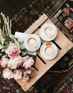 flowers | lattes | coffee | Saturdays | wood pallets