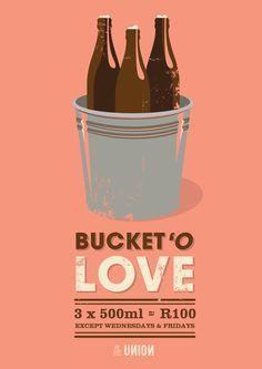 Bucket o' love at