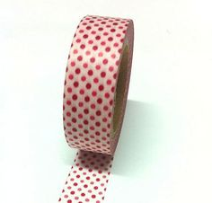 This set of Red Polka-Dot Washi Tape ($3) can be used for ...