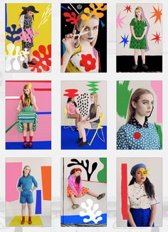 A collaboration with Tate x Rookie Magazine that Maria Ines Gul : a sartorial homage to Henri Matisse, styled by Verity Pemberton.