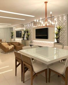 Different TV Background Wall Design Makes The Living Room Look High-end, Atmospheric and Superior - Lily Fashion Style Home Room Design, Home Interior Design, Living Room Designs, House Design, Wall Design, Living Room Decor Cozy, Living Room Tv, Home And Living, Restaurant Interior Design