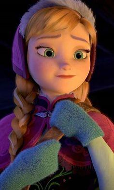 Anna Frozen, Disney Princess Frozen, Cute Cartoon Girl, Queen Elsa, Disney Quotes, Princesas Disney, Tinkerbell, Disney Characters, Fictional Characters