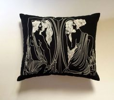 The Museum Collection is a selection of limited edition, hand embroidered… Hand Embroidery, Embroidery Designs, Most Famous Paintings, Embroidered Cushions, Museum Collection, Artisan, Hands, Throw Pillows, Unique