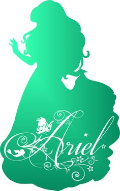 Ariel Silhouette - Disney Princess Photo (37757451) - Fanpop