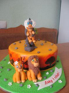 Король лев #торт_на_заказ_днепродзержинск #мульт_герои #бисквитный_торт #комбинированный_торт