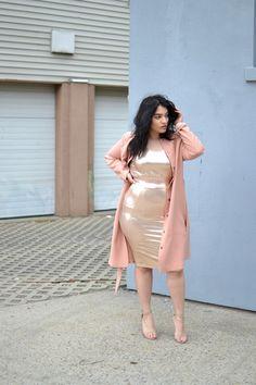 3e0cba1c13b477 Carmakoma pink trench coat