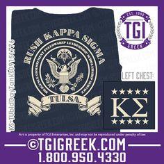 TGI Greek - Kappa Sigma - Fraternity Recruitment - Comfort Colors - Tanks - Greek T-shirts - Bid Day - Rush #tgigreek #kappasigma #rush #bidday