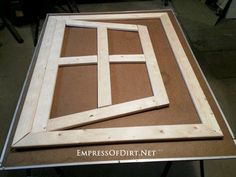 How to make your own optical illusion garden mirror. There's a simple trick that makes this project much easier than it looks!