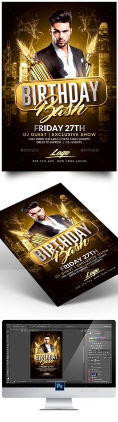 11 Best college party flyers images Card templates printable