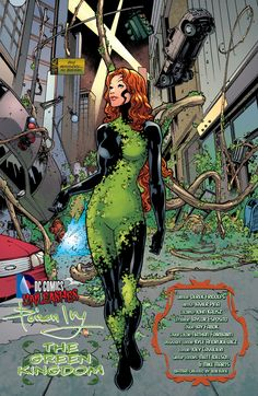 Poison Ivy screenshots, images and pictures - Comic Vine Poison Ivy Comic, Dc Poison Ivy, Poison Ivy Dc Comics, Poison Ivy Cosplay, Poison Ivy Costumes, Poison Ivy Batman, Joker Comic, Comic Art, Comic Book