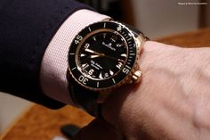 Blancpain Fifty Fathoms in rose gold - my favorite diver and another grail watch.