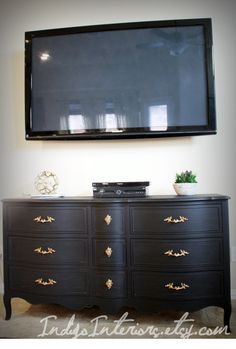 black french provincial dresser tv stand by indigointeriors