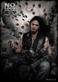 "Greek guitar player George ""The Kid"" Karafotis (RAVEN LORD, VERMILLION DAYS) is now endorsed by NoLogoPicks"