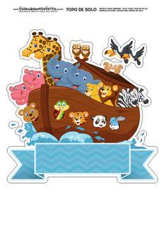 Uau! Veja o que temos para Topo de Bolo Arca de Noe Noahs Ark Party, Lion King Pictures, Cartoon Clip, Baby Shawer, Boy Images, Digi Stamps, Birthday Photos, Toy Store, Cute Wallpapers