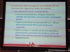 Atención del síncope en #urgencias. #arritsemes15 #SEMES2015