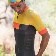 Maillot CX PRO Unisex SN Mustard - Maillots - Hombre - Ciclismo - Colección