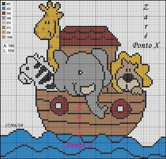 This would be an adorable top to a height chart Cross Stitch For Kids, Cross Stitch Baby, Cross Stitch Animals, Cross Stitch Charts, Cross Stitch Designs, Cross Stitch Patterns, Cross Stitching, Cross Stitch Embroidery, C2c Crochet