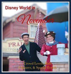 Disney World in November - Crowd Warnings, Ride Closures, Attraction…