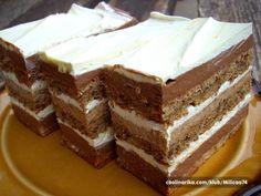 Torta nad tortama [Recept] « Recepti za torte i kolace Torte Recepti, Kolaci I Torte, Jednostavne Torte, Bakery Recipes, Dessert Recipes, Cake Cookies, Cupcake Cakes, Croatian Recipes, Sweet Cakes