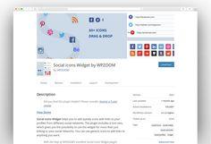 Most Popular Social Media WordPress Plugins 2020 - New Template Most Popular Social Media, Social Icons, Wordpress Plugins, Templates, Blog, Stencils, Vorlage, Blogging, Models