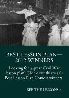 Civil war lesson plans