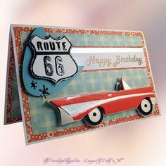 Cricut Couple: 50's Birthday Cards... too too cute!