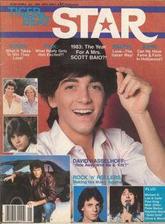 Scott Baio (cover), The Dukes of Hazzard (Chris and Byron), John Stamos, Rick Springfield, David Hasselhoff, and Steve Perry.