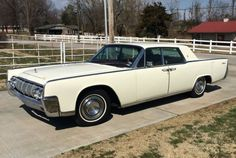 THIS is the EXACT one I had !! 1964 Lincoln Continental