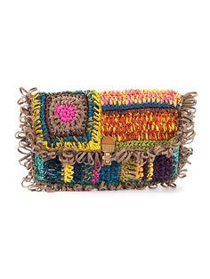 Jamin Puech crochet clutch bag                                                                                                                                                      Mais