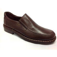 Modello Mario - 45 EU - Cuero Italiano Hecho A Mano Hombre Piel Marrón Zapatos Vestir Oxfords - Cuero Cuero Suave - Encaje MDS61