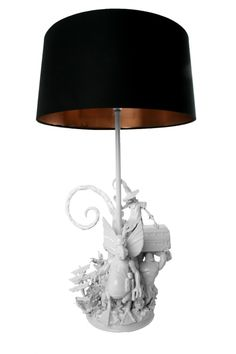 make a lamp from toys