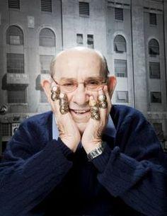 "Lawrence Peter ""Yogi"" Berra 10 time World Champion. NYYankees"
